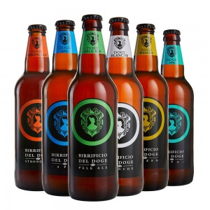 Mix alte fermentazioni - 50cl: 1 Weizen, 1 Ipa, 1 Apa, 1 Blanche, 1 Strong Ale, 1 Pale Ale