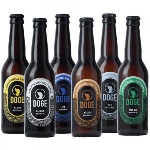 Mix birre chiare - 33cl: 1 Pils, 1 Marzen, 1 Blanche, 1 Weizen, 1 Apa, 1 Pale Ale