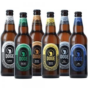 Mix birre chiare - 50cl: 1 Pils, 1 Marzen, 1 Blanche, 1 Weizen, 1 Apa, 1 Pale Ale