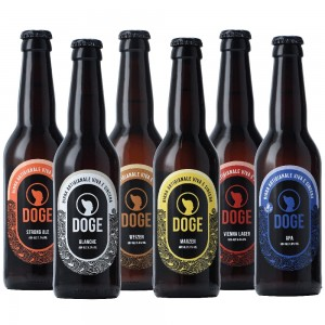 Mix Degustazione - 33cl: Marzen, Vienna Lager, Apa, Blanche, Weizen, Strong Ale