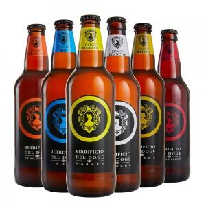 Mix Degustazione - 50cl: Marzen, Vienna Lager, Apa, Blanche, Weizen, Strong Ale