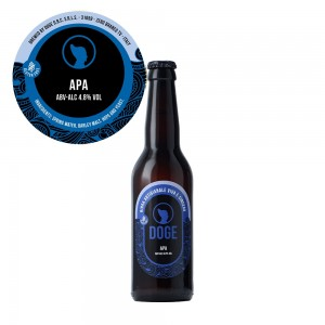 Birra chiara Apa - 33cl
