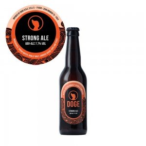Birra scura Strong Ale - 33cl