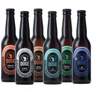 Mix alte fermentazioni - 33cl: 1 Weizen, 1 Ipa, 1 Apa, 1 Blanche, 1 Strong Ale, 1 Pale Ale